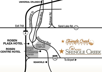 Rosen Shingle Creek Resort Florida Golf Resort